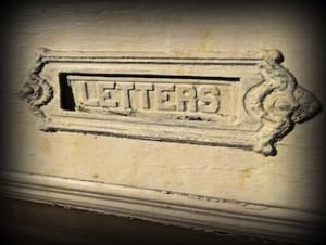 door slot for letters