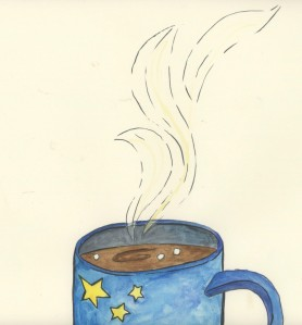 mug shot with steam